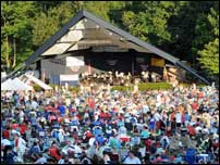 Downtown Lancaster PA - Long's Park Amphitheater Music Series