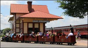 Family activities in Lancaster PA - Strasburg Railroad